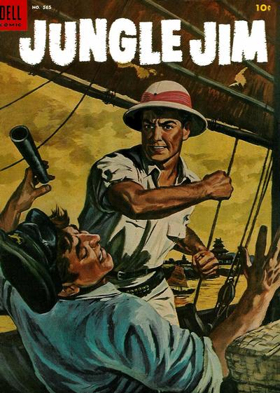 Cover for Four Color (Dell, 1942 series) #565 - Jungle Jim