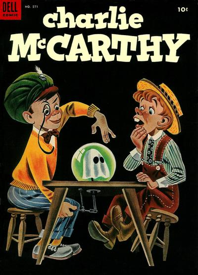 Cover for Four Color (Dell, 1942 series) #571 - Charlie McCarthy
