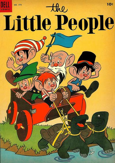 Cover for Four Color (Dell, 1942 series) #573 - The Little People