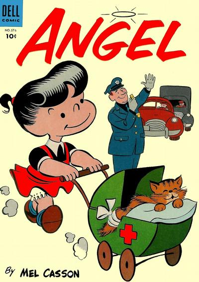 Cover for Four Color (Dell, 1942 series) #576 - Angel