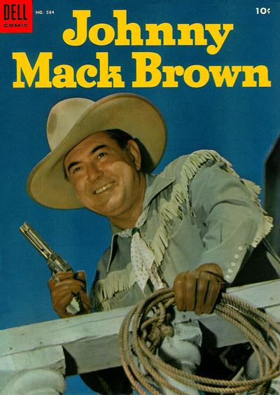 Cover for Four Color (Dell, 1942 series) #584 - Johnny Mack Brown