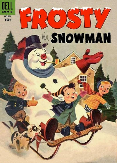 Cover for Four Color (Dell, 1942 series) #601 - Frosty the Snowman