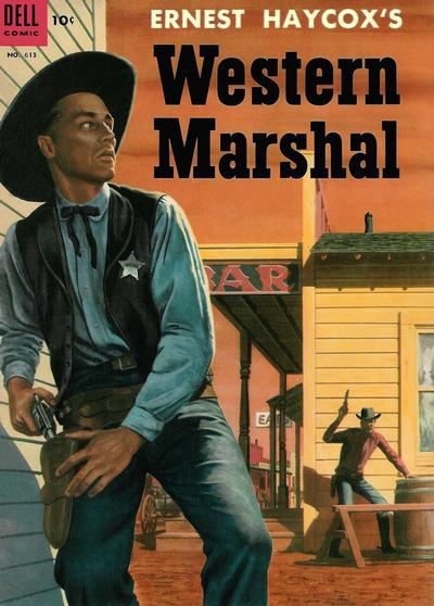 Cover for Four Color (Dell, 1942 series) #613 - Ernest Haycox's Western Marshal