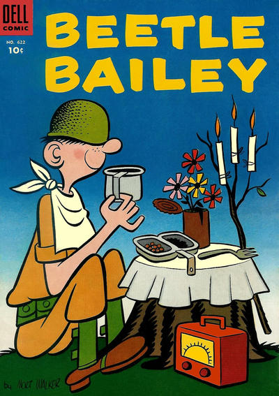 Cover for Four Color (Dell, 1942 series) #622 - Beetle Bailey
