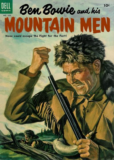 Cover for Four Color (Dell, 1942 series) #626 - Ben Bowie and His Mountain Men