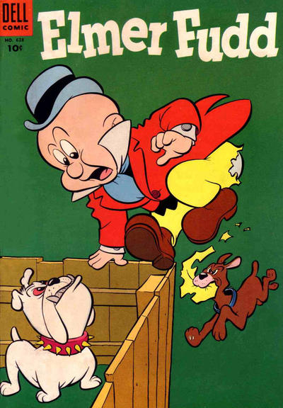 Cover for Four Color (Dell, 1942 series) #628 - Elmer Fudd