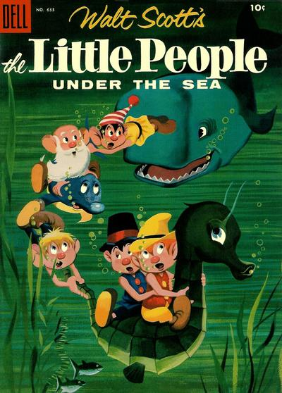 Cover for Four Color (Dell, 1942 series) #633 - The Little People