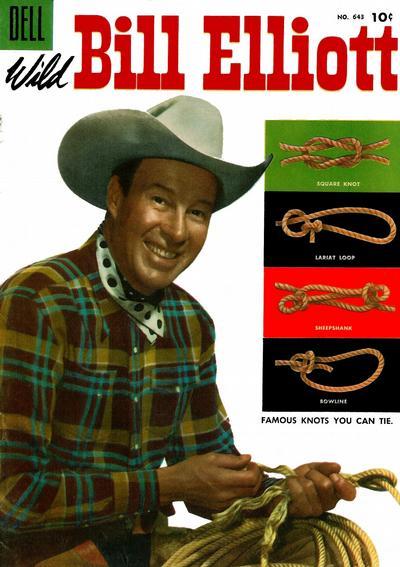 Cover for Four Color (Dell, 1942 series) #643 - Wild Bill Elliott