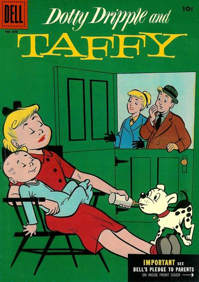 Cover for Four Color (Dell, 1942 series) #646 - Dotty Dripple and Taffy