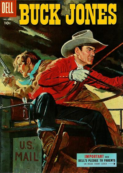 Cover for Four Color (Dell, 1942 series) #652 - Buck Jones