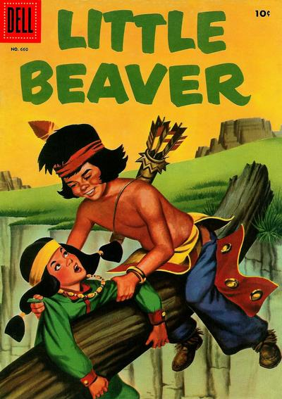 Cover for Four Color (Dell, 1942 series) #660 - Little Beaver