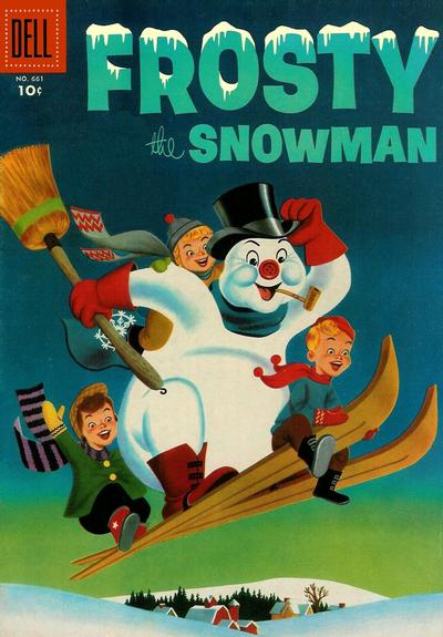 Cover for Four Color (Dell, 1942 series) #661 - Frosty the Snowman