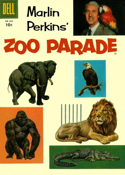 Cover for Four Color (Dell, 1942 series) #662 - Zoo Parade