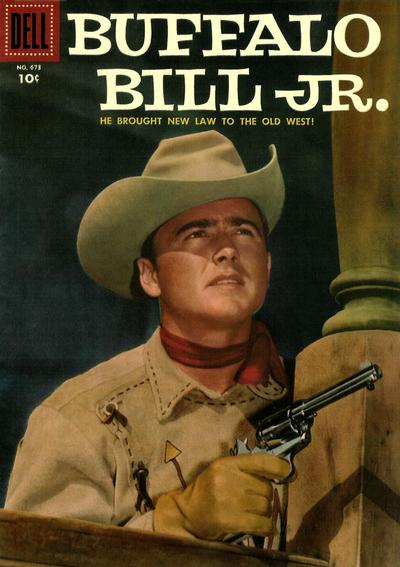 Cover for Four Color (Dell, 1942 series) #673 - Buffalo Bill Jr.