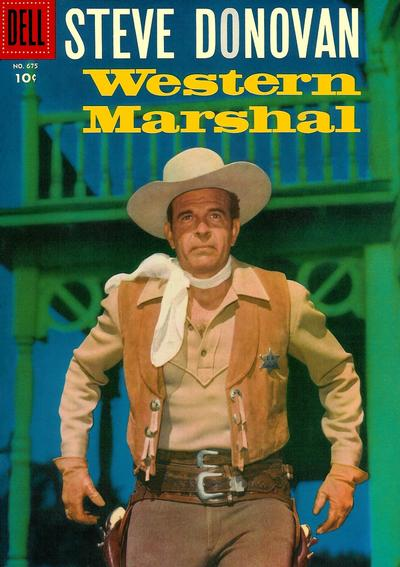 Cover for Four Color (Dell, 1942 series) #675 - Steve Donovan Western Marshal