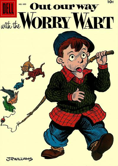 Cover for Four Color (Dell, 1942 series) #680 - Out Our Way with the Worry Wart