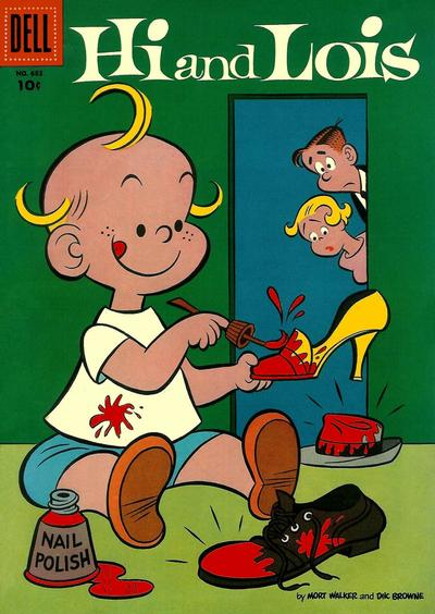 Cover for Four Color (Dell, 1942 series) #683 - Hi and Lois