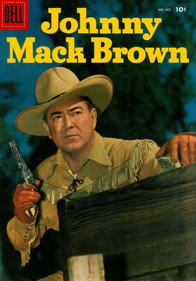 Cover for Four Color (Dell, 1942 series) #685 - Johnny Mack Brown
