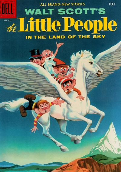 Cover for Four Color (Dell, 1942 series) #692 - The Little People