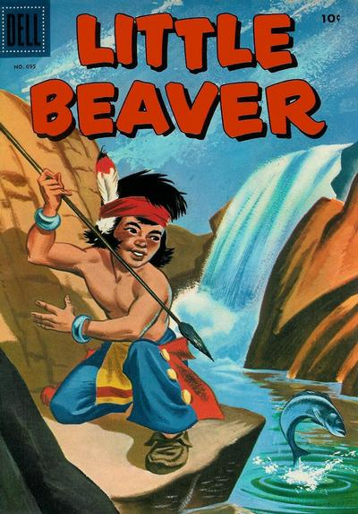 Cover for Four Color (Dell, 1942 series) #695 - Little Beaver