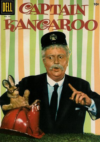 Cover for Four Color (Dell, 1942 series) #721 - Captain Kangaroo
