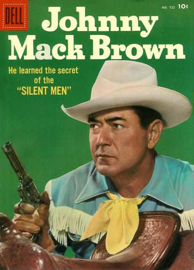 Cover for Four Color (Dell, 1942 series) #722 - Johnny Mack Brown