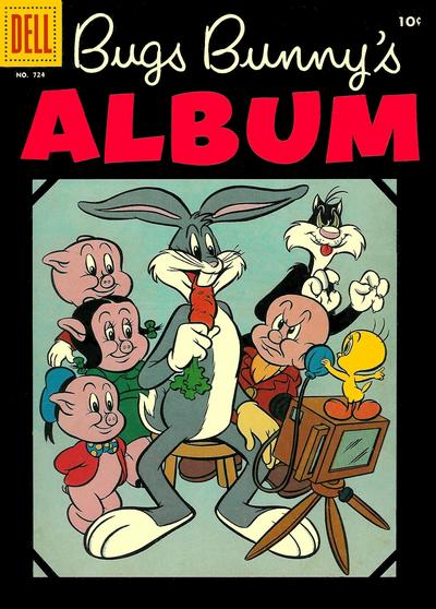 Cover for Four Color (Dell, 1942 series) #724 - Bugs Bunny's Album