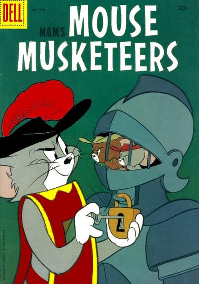 Cover for Four Color (Dell, 1942 series) #728 - M-G-M's Mouse Mouseketeers