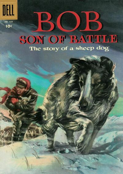 Cover for Four Color (Dell, 1942 series) #729 - Bob Son of Battle