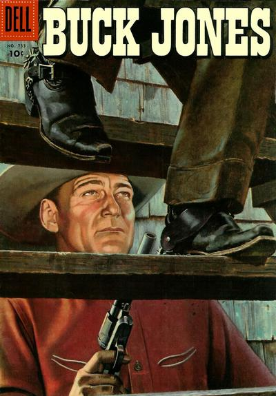 Cover for Four Color (Dell, 1942 series) #733 - Buck Jones
