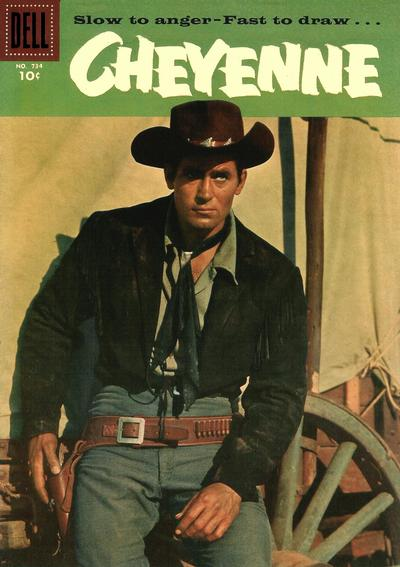 Cover for Four Color (Dell, 1942 series) #734 - Cheyenne