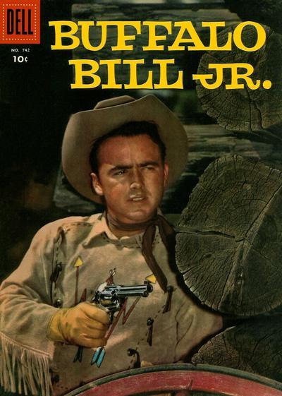 Cover for Four Color (Dell, 1942 series) #742 - Buffalo Bill Jr.