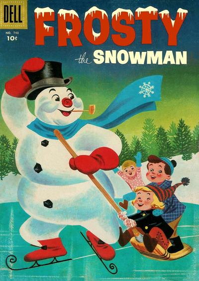 Cover for Four Color (Dell, 1942 series) #748 - Frosty the Snowman
