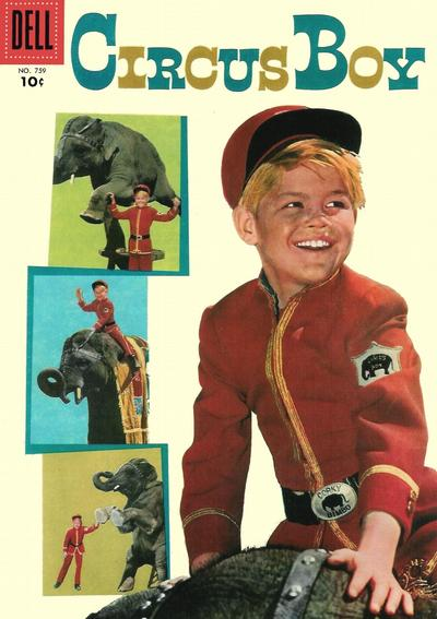 Cover for Four Color (Dell, 1942 series) #759 - Circus Boy