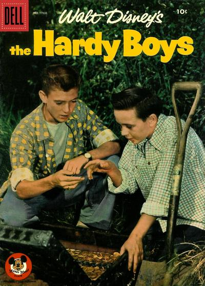 Cover for Four Color (Dell, 1942 series) #760 - Walt Disney's The Hardy Boys