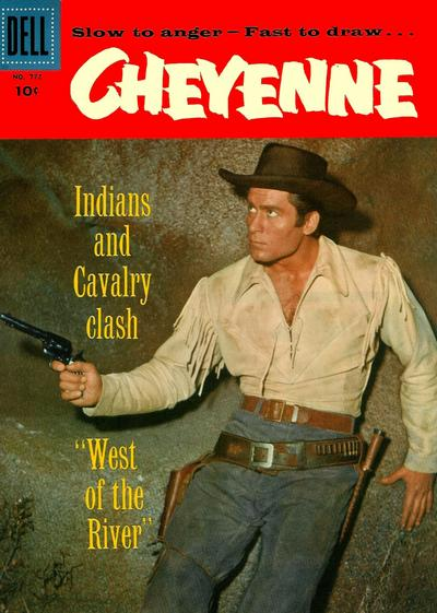 Cover for Four Color (Dell, 1942 series) #772 - Cheyenne