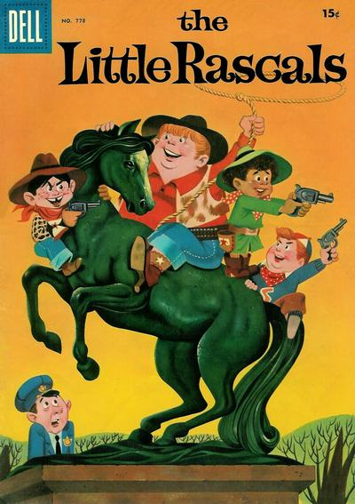 Cover for Four Color (Dell, 1942 series) #778 - The Little Rascals