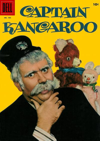 Cover for Four Color (Dell, 1942 series) #780 - Captain Kangaroo