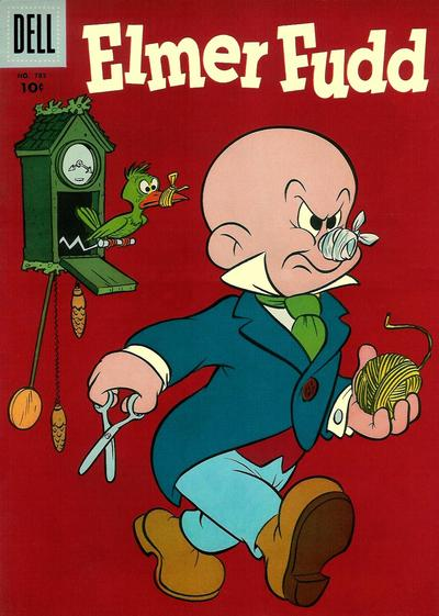 Cover for Four Color (Dell, 1942 series) #783 - Elmer Fudd