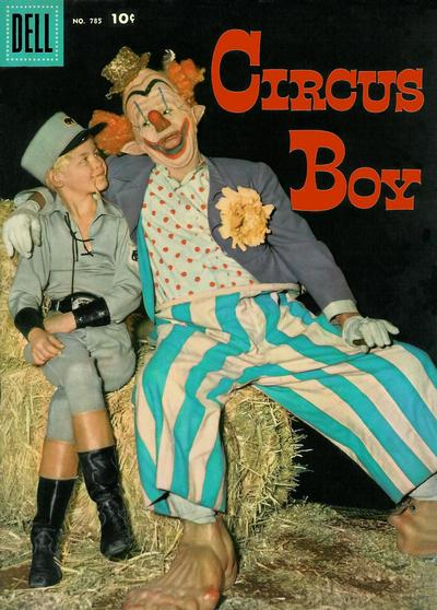 Cover for Four Color (Dell, 1942 series) #785 - Circus Boy
