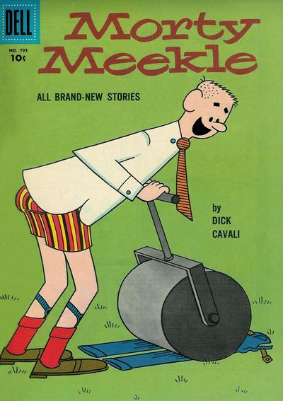 Cover for Four Color (Dell, 1942 series) #793 - Morty Meekle