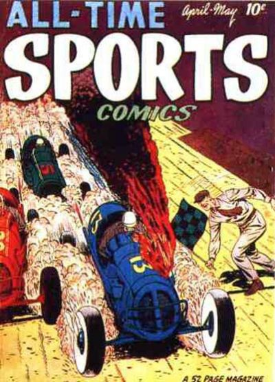 Cover for All-Time Sports Comics (Hillman, 1949 series) #v1#4