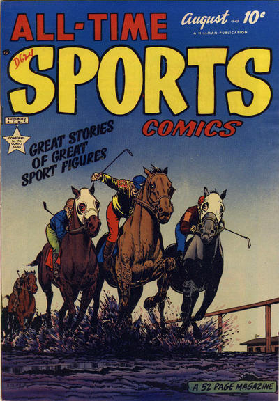 Cover for All-Time Sports Comics (Hillman, 1949 series) #v1#6