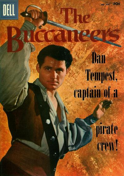 Cover for Four Color (Dell, 1942 series) #800 - The Buccaneers