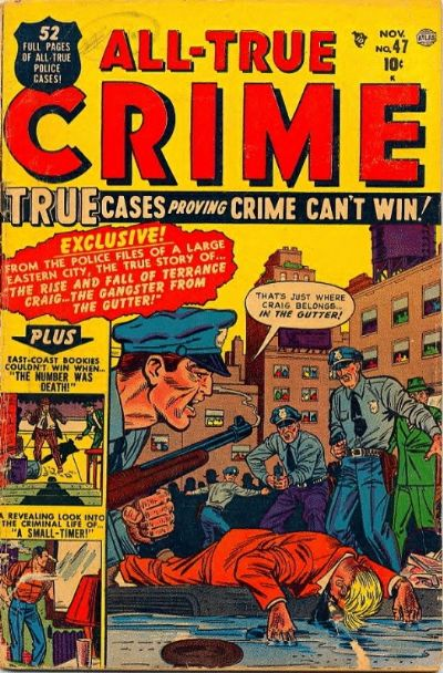 Cover for All True Crime (Marvel, 1949 series) #47