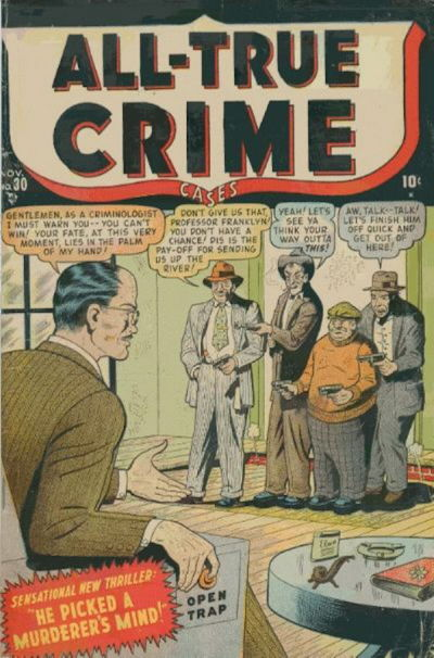Cover for All True Crime Cases (Marvel, 1948 series) #30