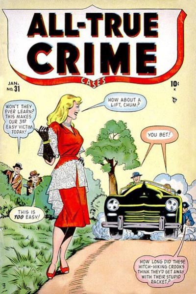 Cover for All True Crime Cases (Marvel, 1948 series) #31