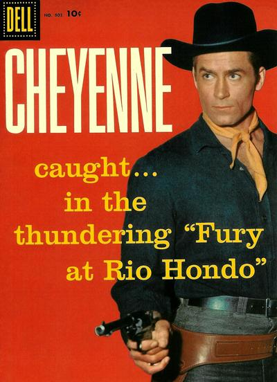 Cover for Four Color (Dell, 1942 series) #803 - Cheyenne