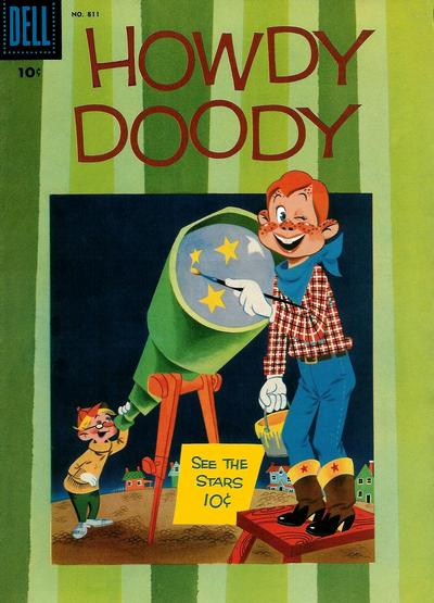 Cover for Four Color (Dell, 1942 series) #811 - Howdy Doody