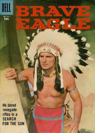 Cover for Four Color (Dell, 1942 series) #816 - Brave Eagle